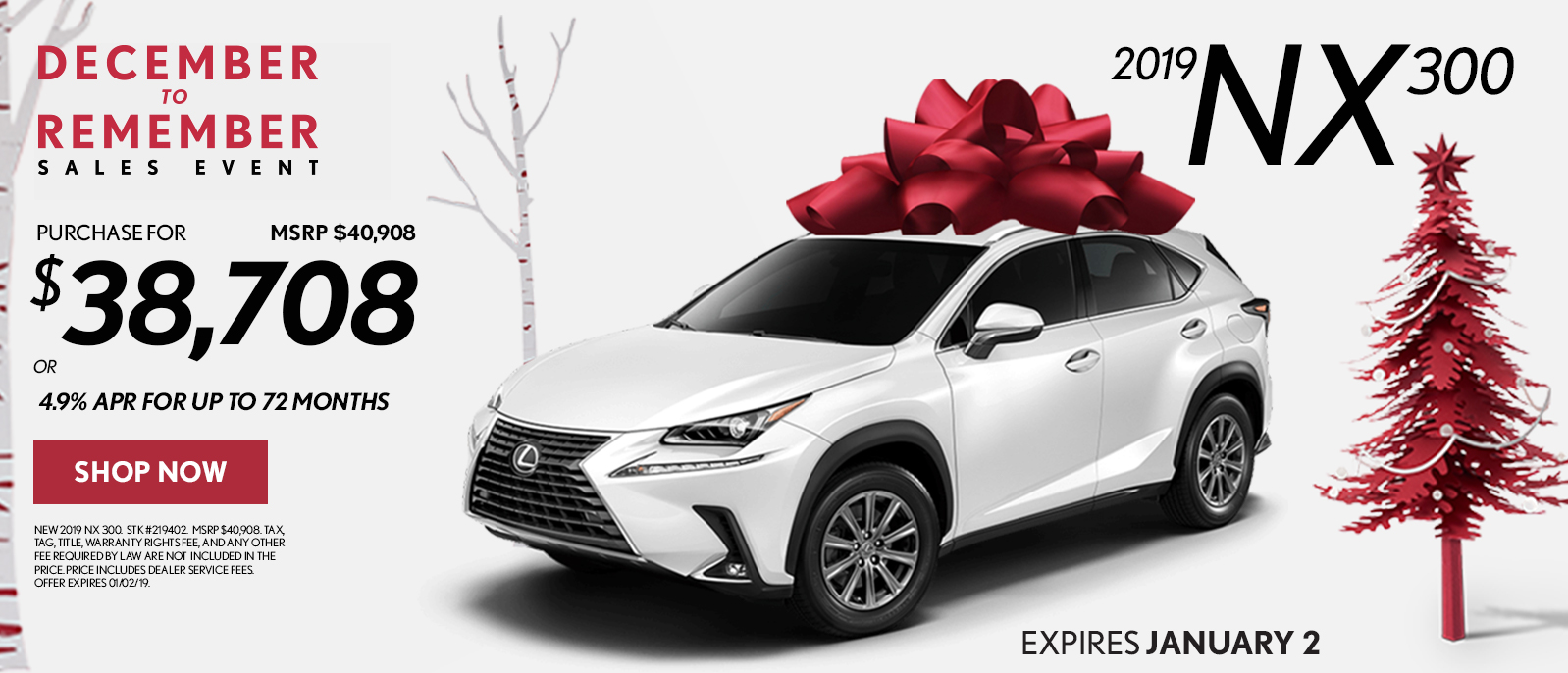 Hennessy Lexus Of Atlanta >> Hennessy Lexus | Lexus December to Remember Offers and ...