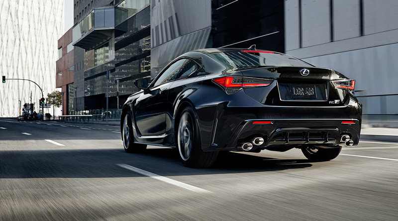 2021 Lexus RC F Safety