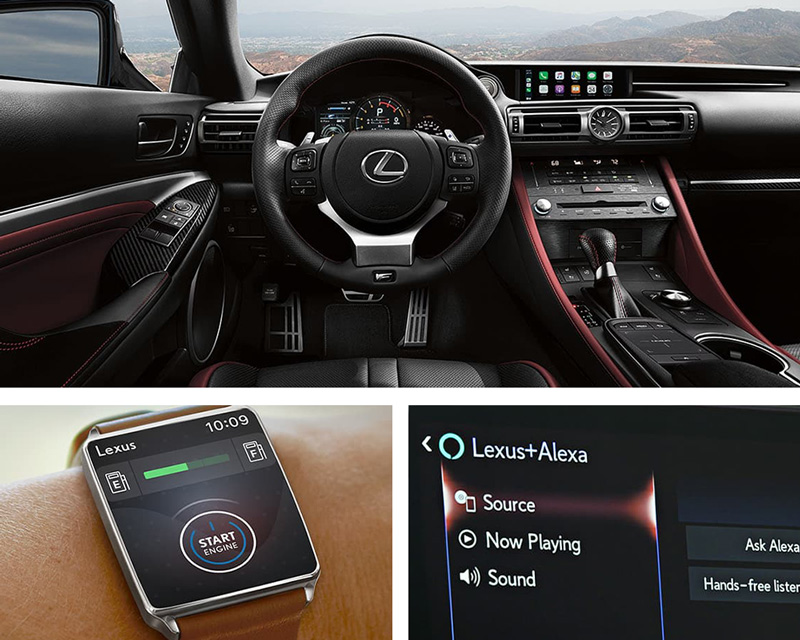2021 Lexus RC F Technology